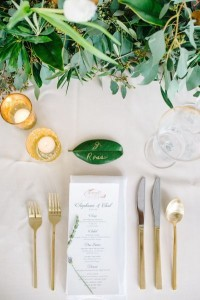 Leaf Placesetting